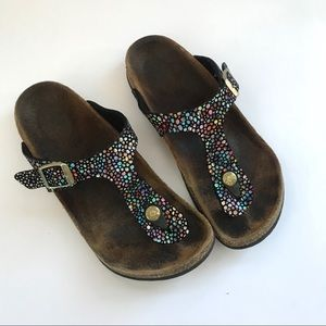 Birkenstock's girls sandals flip flops size 34